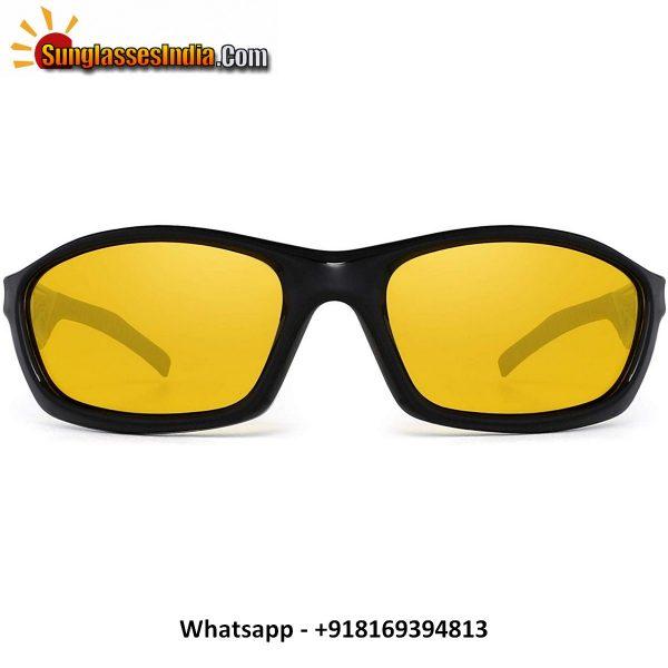 Driving Glasses Sport Polarized Anti Glare Night Vision Sunglasses Reduce Eye Strain