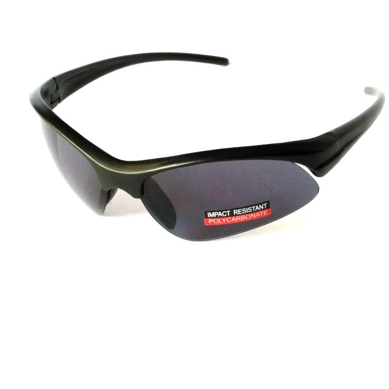 Black Sports Driving Sunglasses