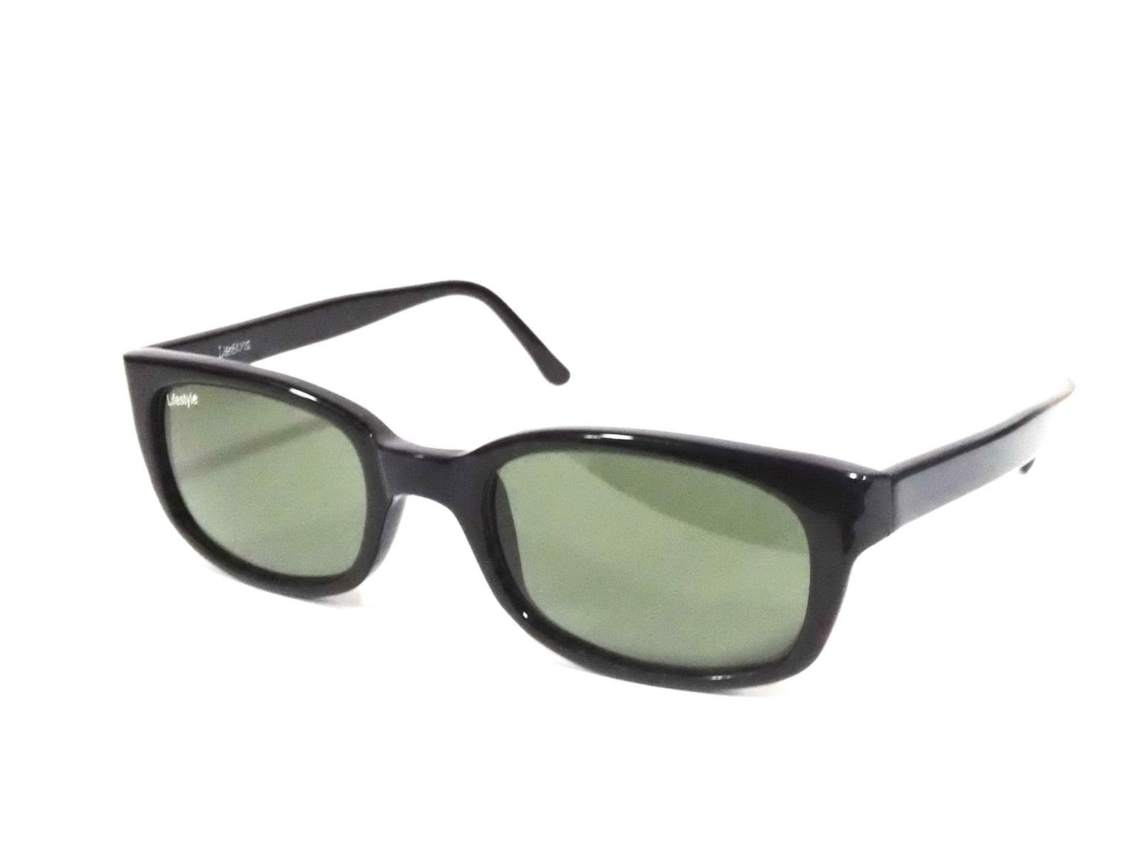 Sigma Black Wayfarer Sunglasses with Glass Lens