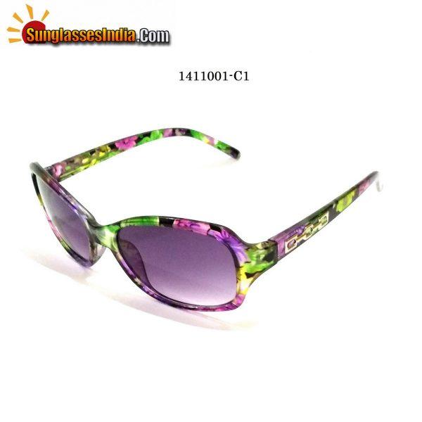 Floral Print Ladies Women Sunglasses Model 1141001C1