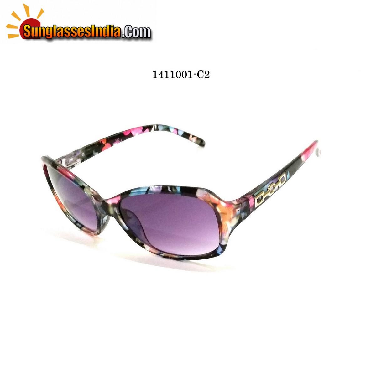 Floral Print Ladies Women Sunglasses Model 1141001C2