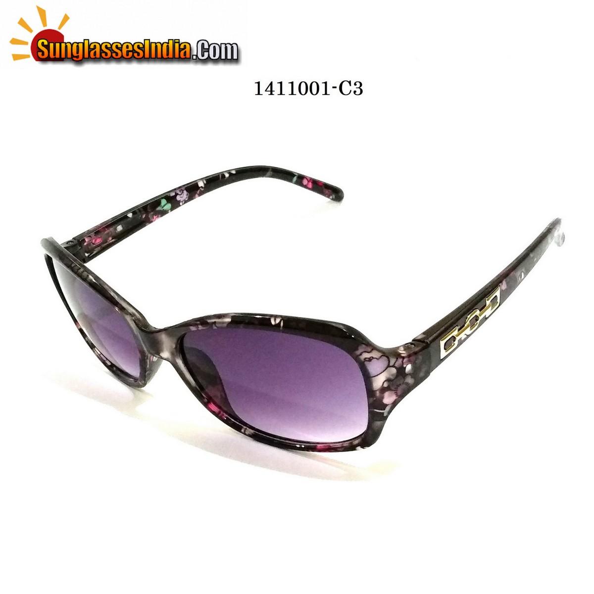 Floral Print Ladies Women Sunglasses Model 1141001C3