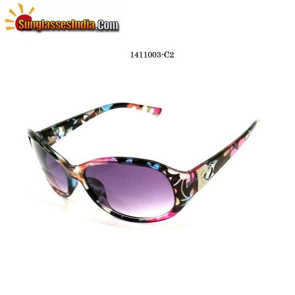 Floral Print Ladies Women Sunglasses Model 1141003C2