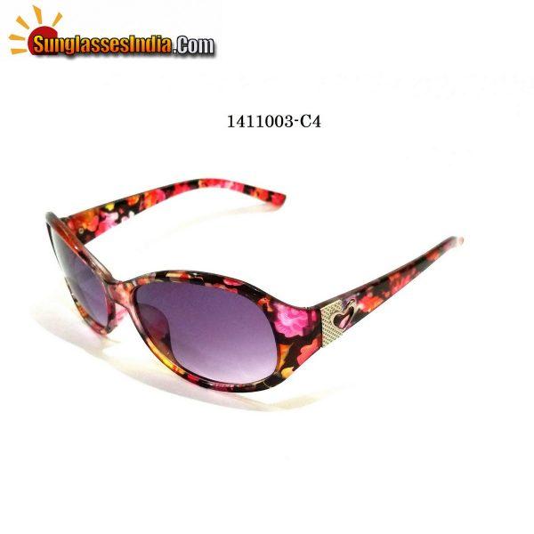 Floral Print Ladies Women Sunglasses Model 1141003C4