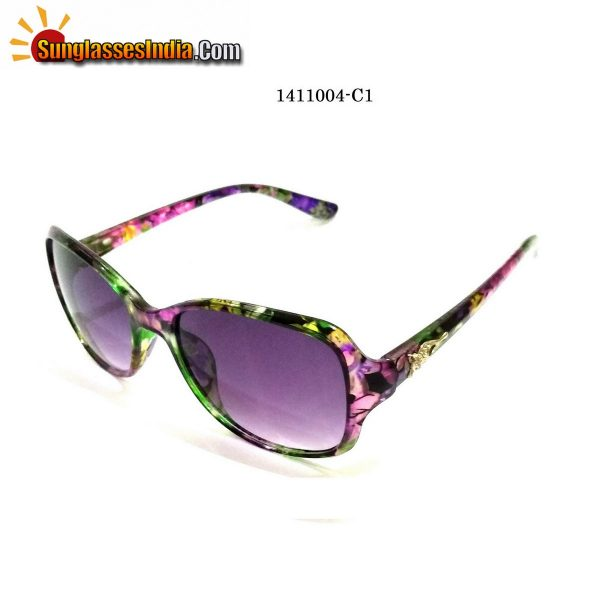 Floral Print Ladies Women Sunglasses Model 1141004C1