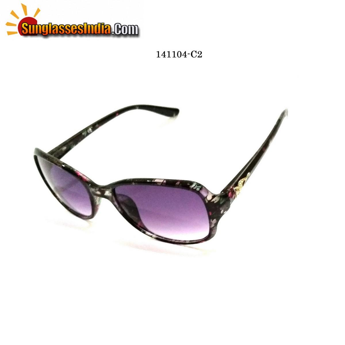 Floral Print Ladies Women Sunglasses Model 1141004C2