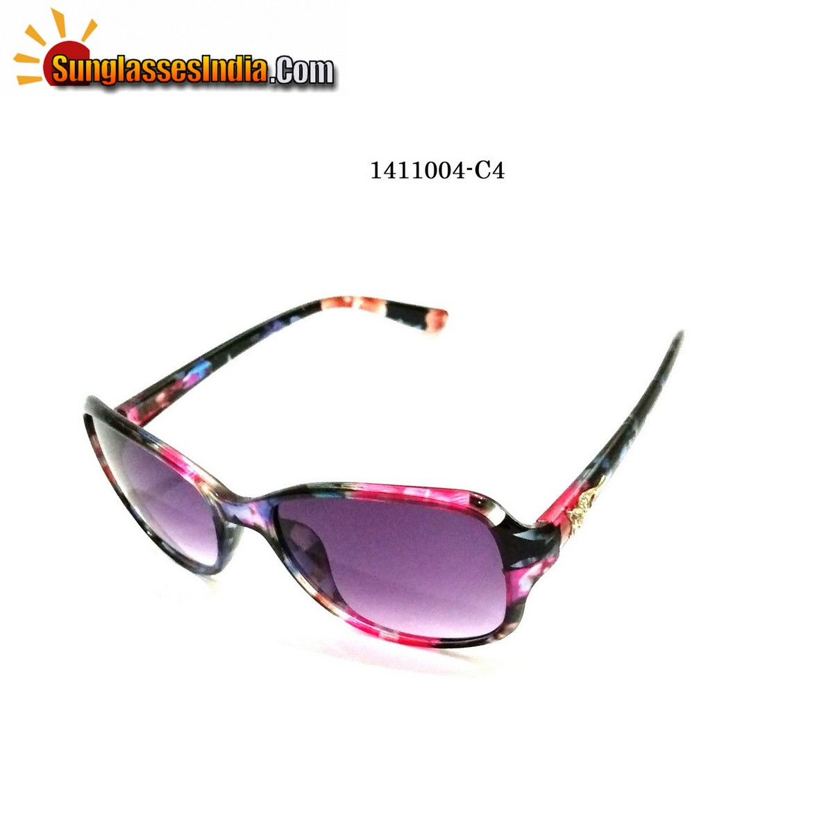 Floral Print Ladies Women Sunglasses Model 1141004C4