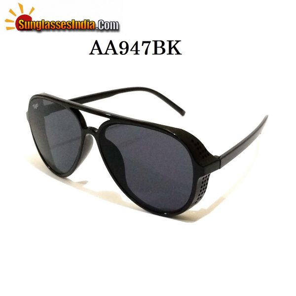 Black Side Cup Fashion Steampunk Sunglasses