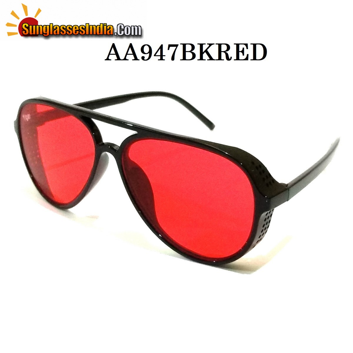 Red Side Cup Fashion Steampunk Sunglasses