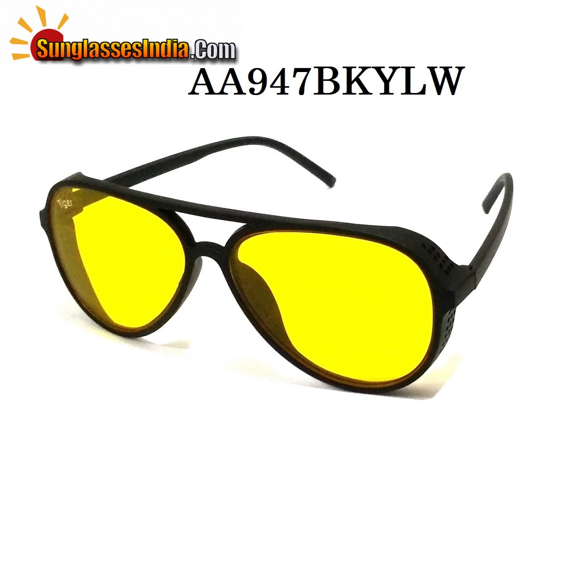 Night Driving Side Cup Steampunk Sunglasses