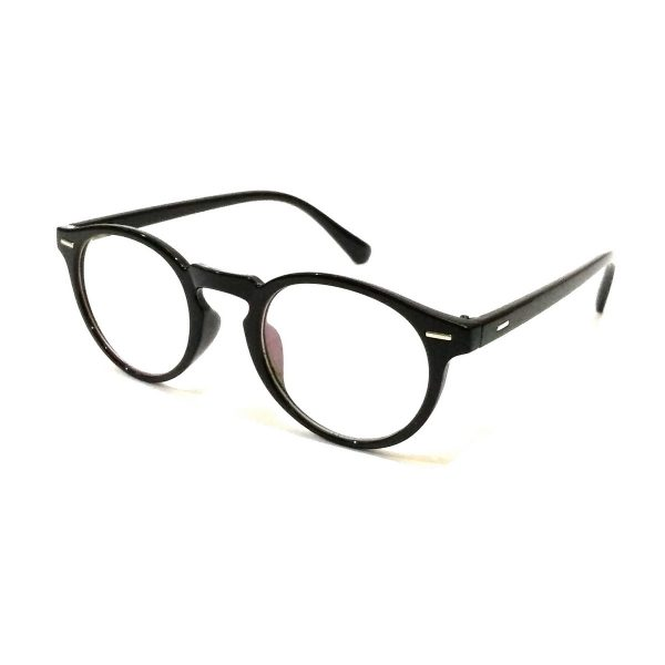 Round Blue Light Blocker Computer Glasses Anti Blue Ray Eyeglasses