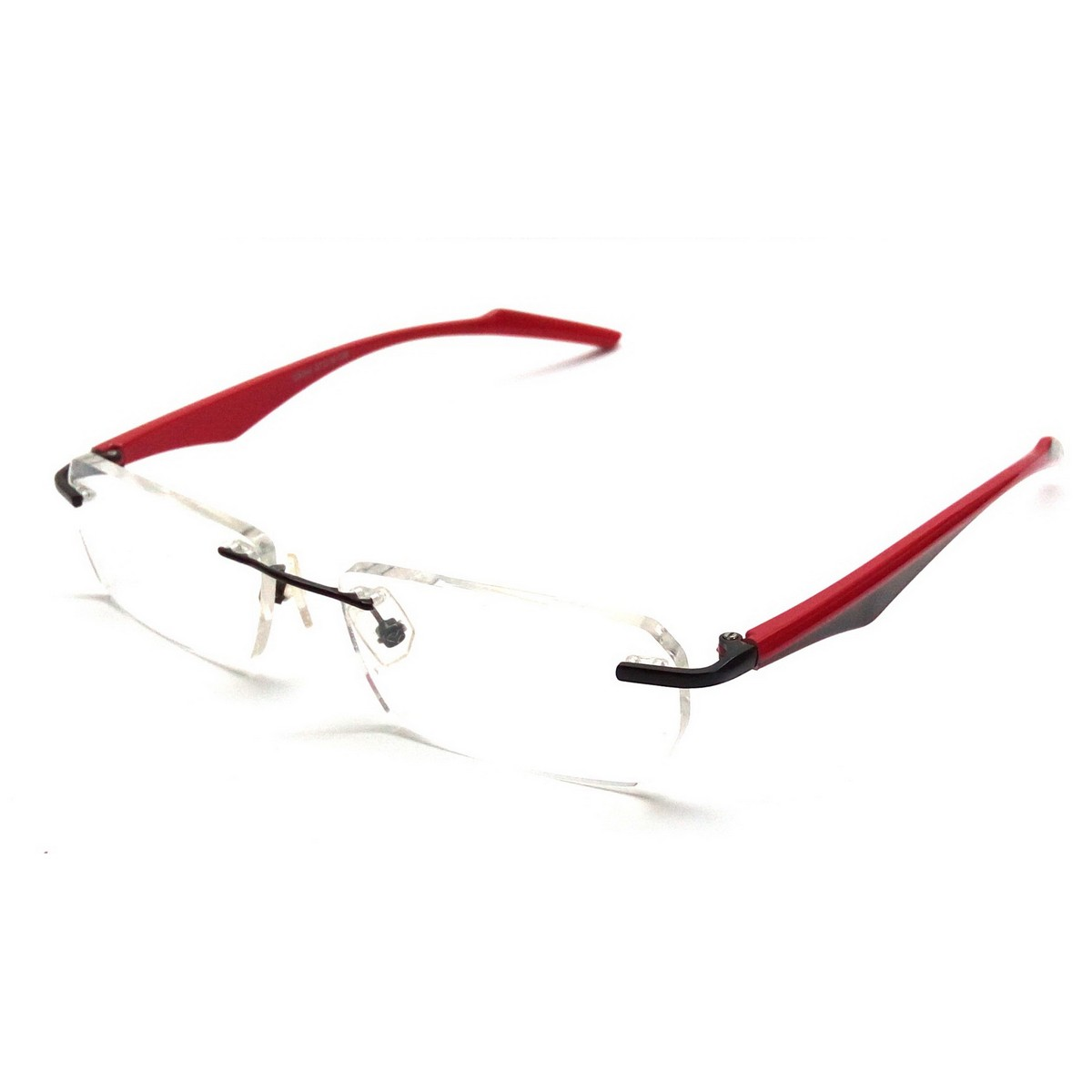 Red Rimless Computer Glasses 29044rd