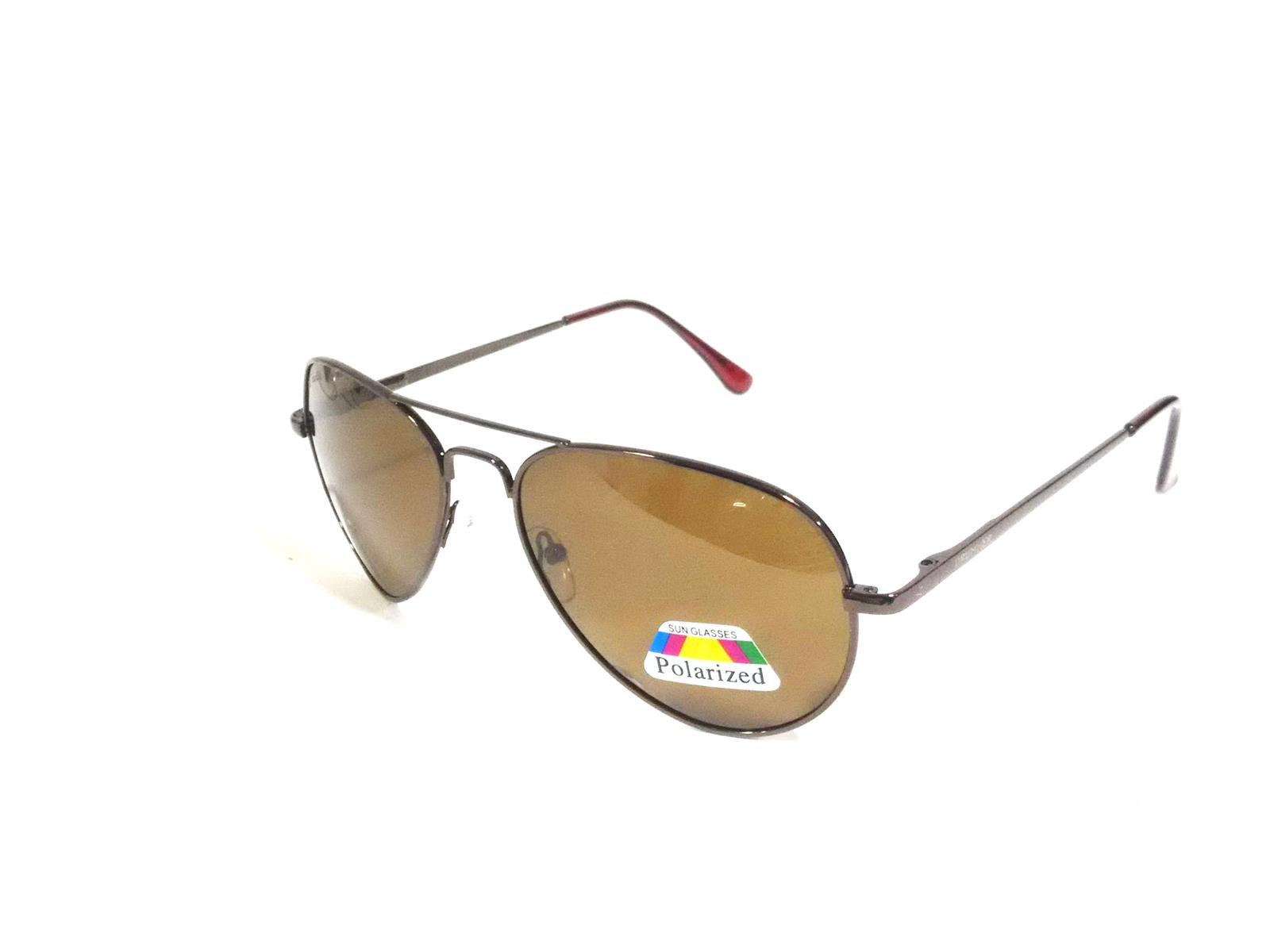 Brown Polarized Aviator Sunglasse SIPL25BR