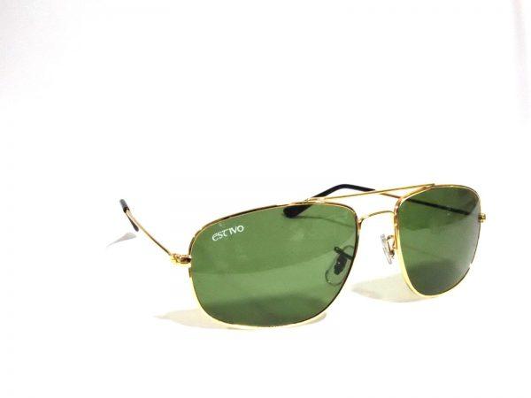 Rectangle Aviator Sunglasses with Glass Lens 3145g