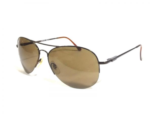Brown Aviator Sunglasses for men with polycarbonate lens