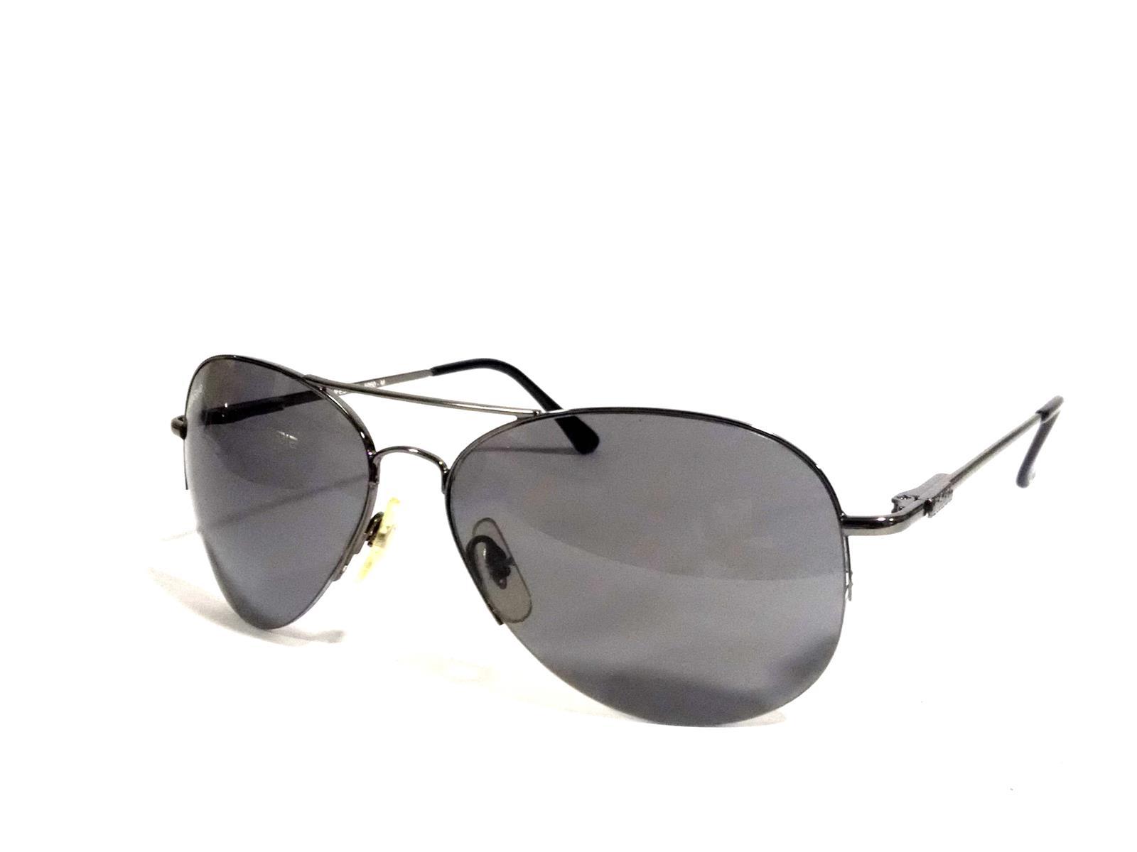 Grey Aviator sunglasses with polycarbonate lens 5050gm