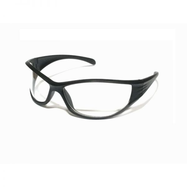 Black Clear Driving Sunglasses for large face