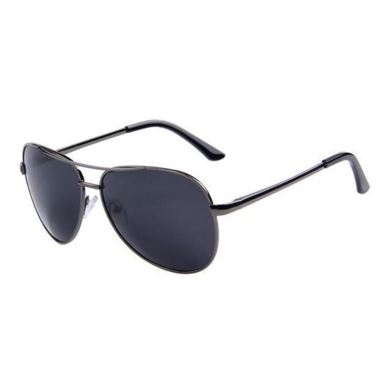 Premium Grey Polarized Aviator Sunglasses 9011gr