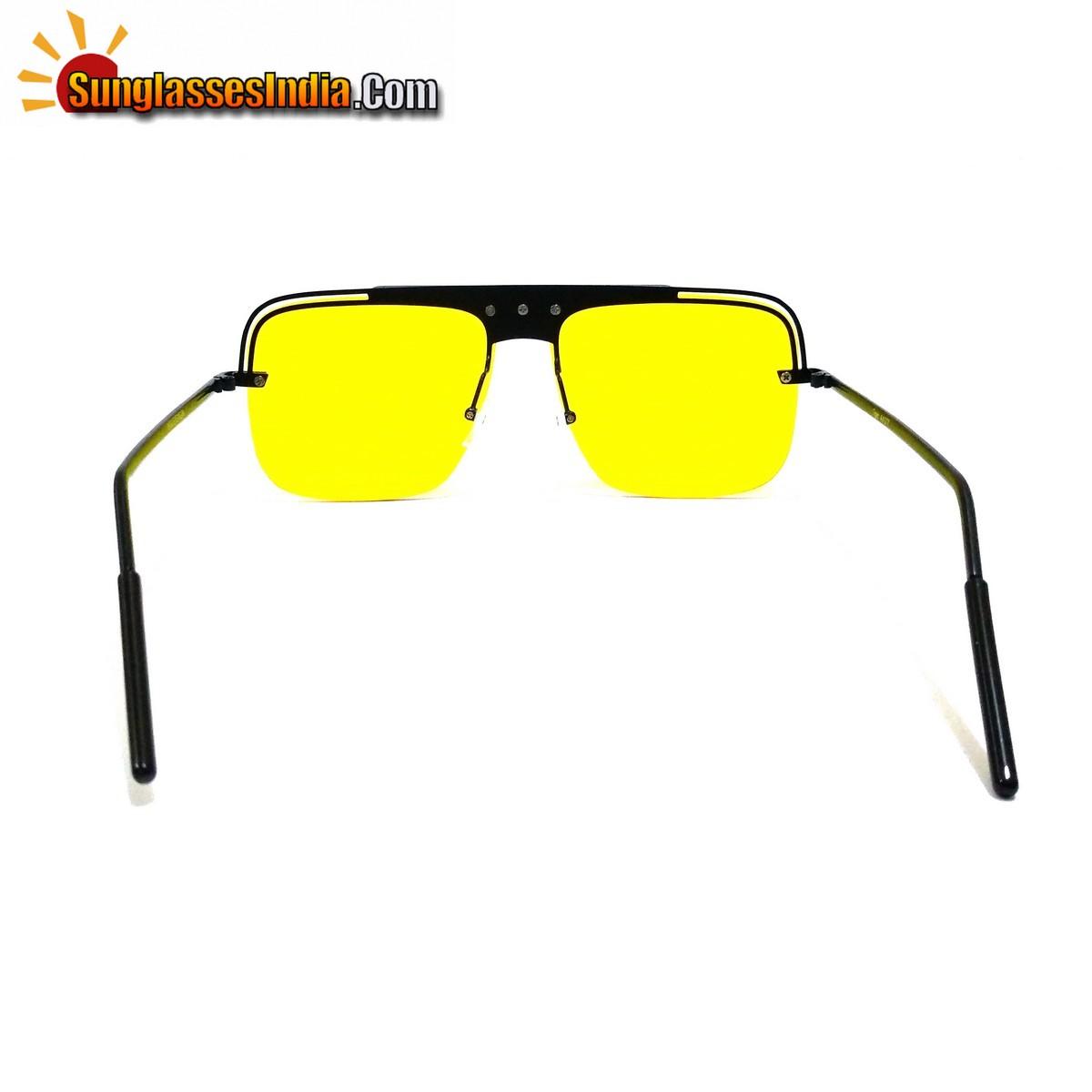 Badshaah Style Night Driving Sunglasses Trendy Club Sunglasses Tik Tok Video Goggles