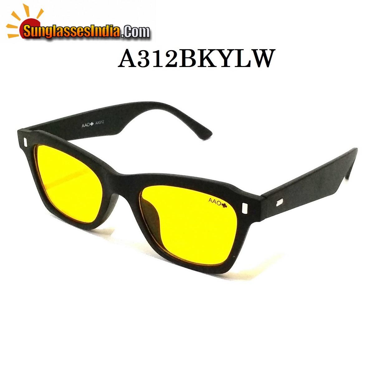 HD Vision Night Driving Wayfare Sunglasses A312BKYL
