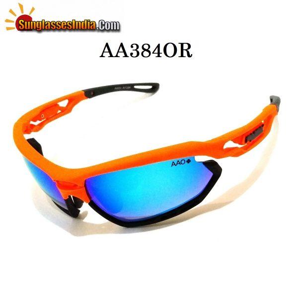 Orange Sports Sunglasses A384Orange