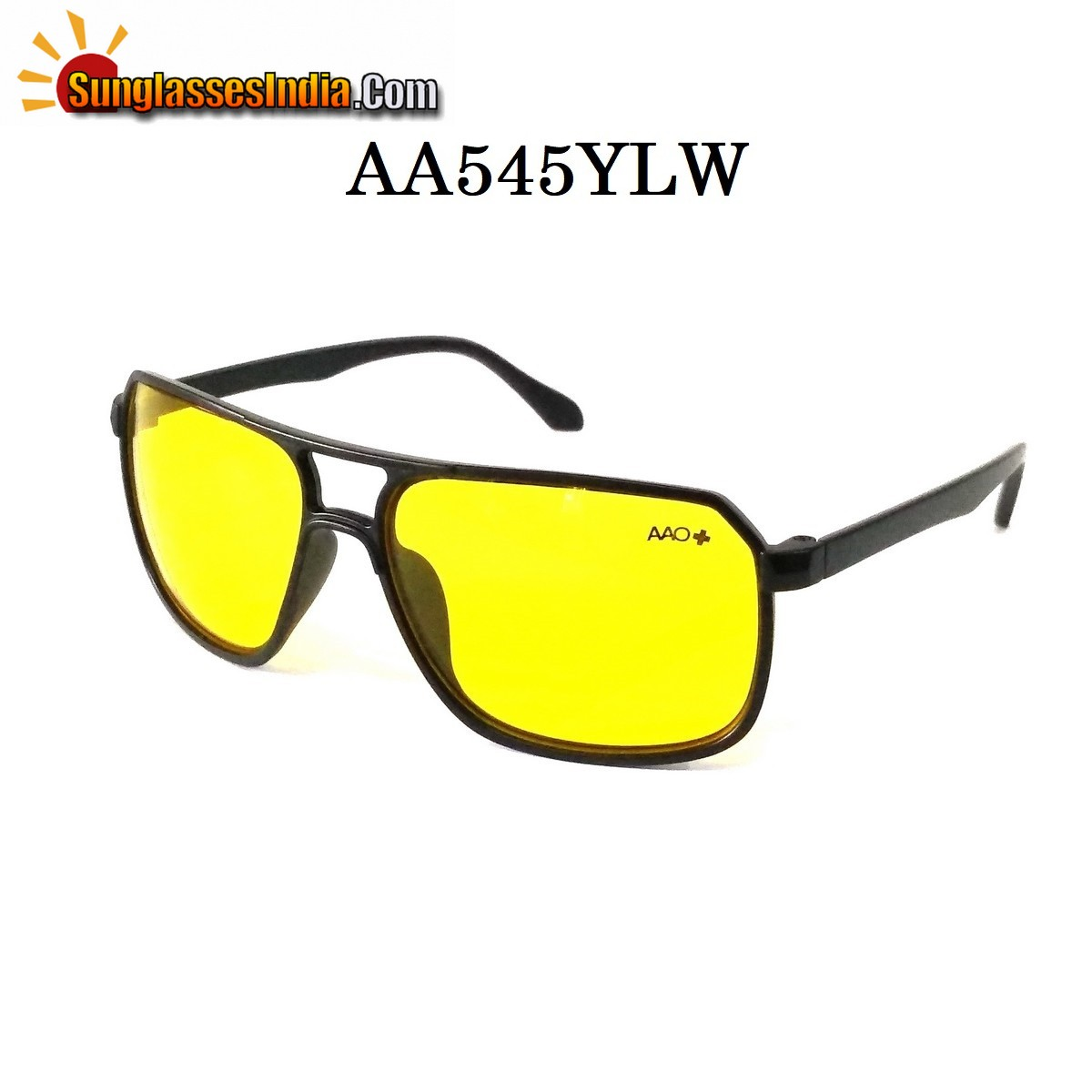 HD Vision Night Driving Rectangle Sunglases