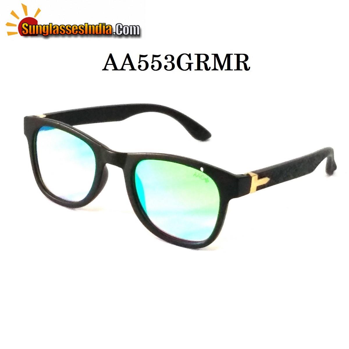 Green Mirror Wayfare Sunglasses