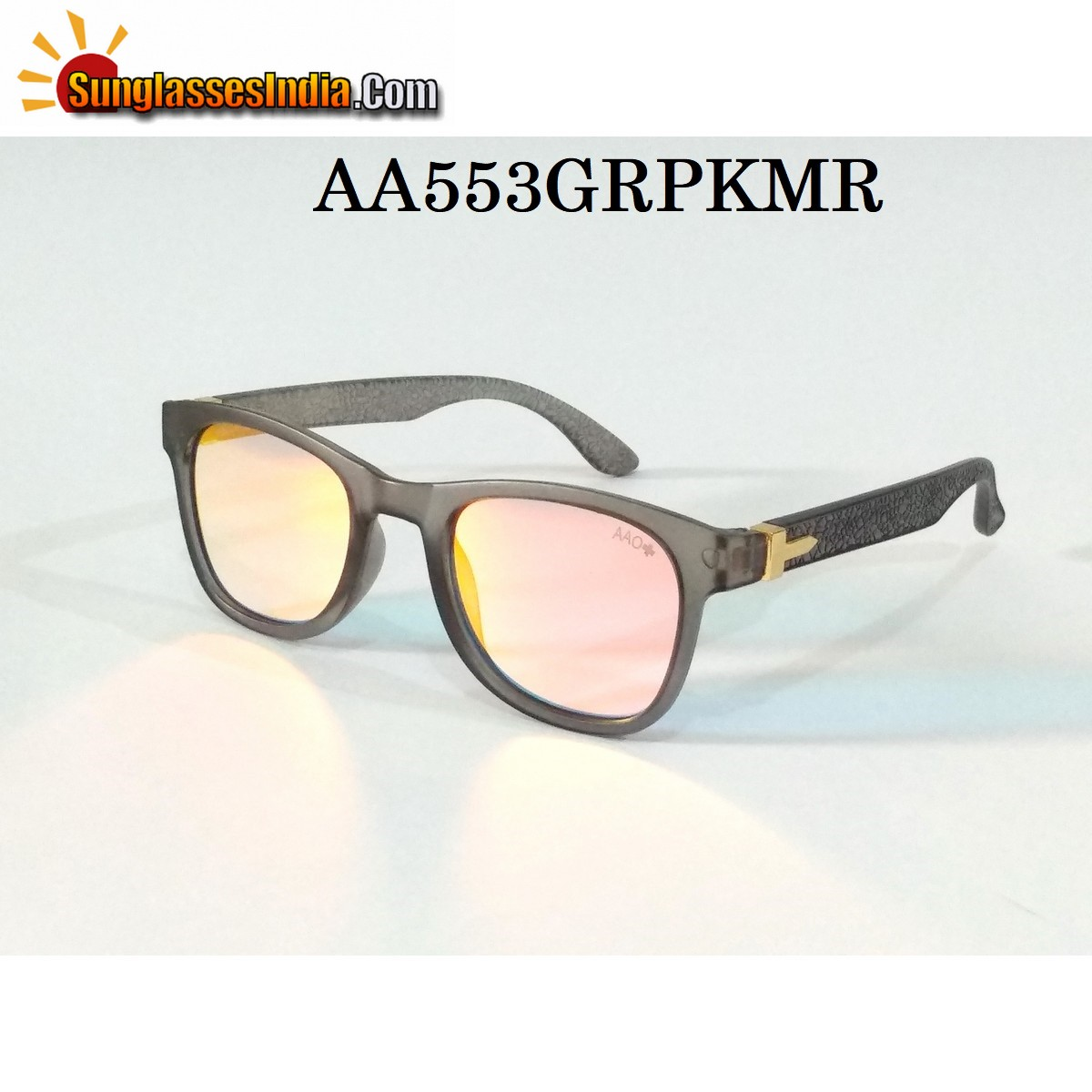 Pink Mirror Wayfare Sunglasses