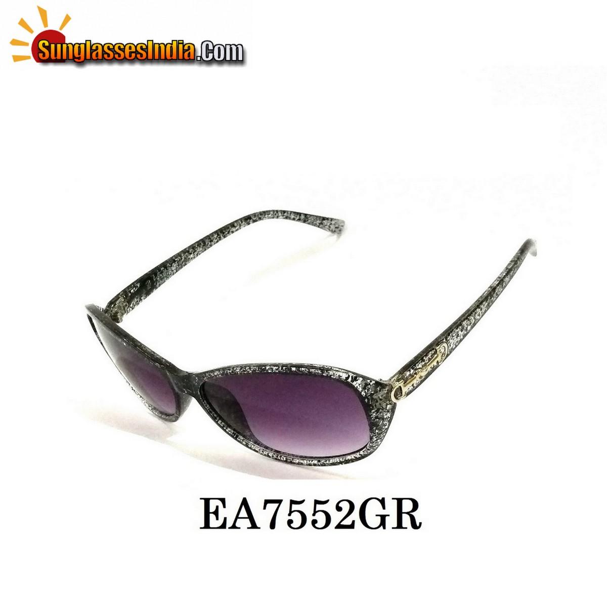 Grey Women Sunglasses EA7552GR
