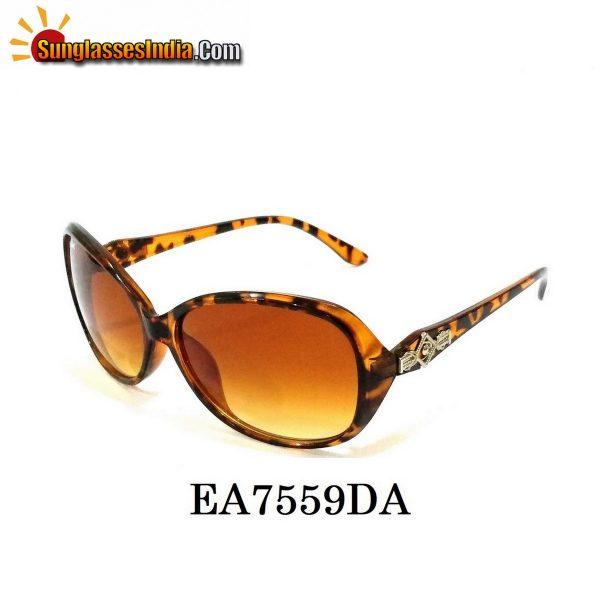 Tortoise Women Sunglasses EA7559DA