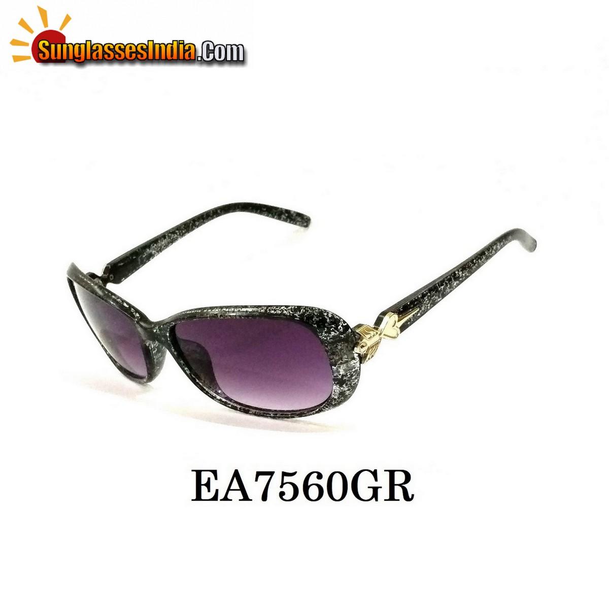 Grey Women Sunglasses EA7560GR