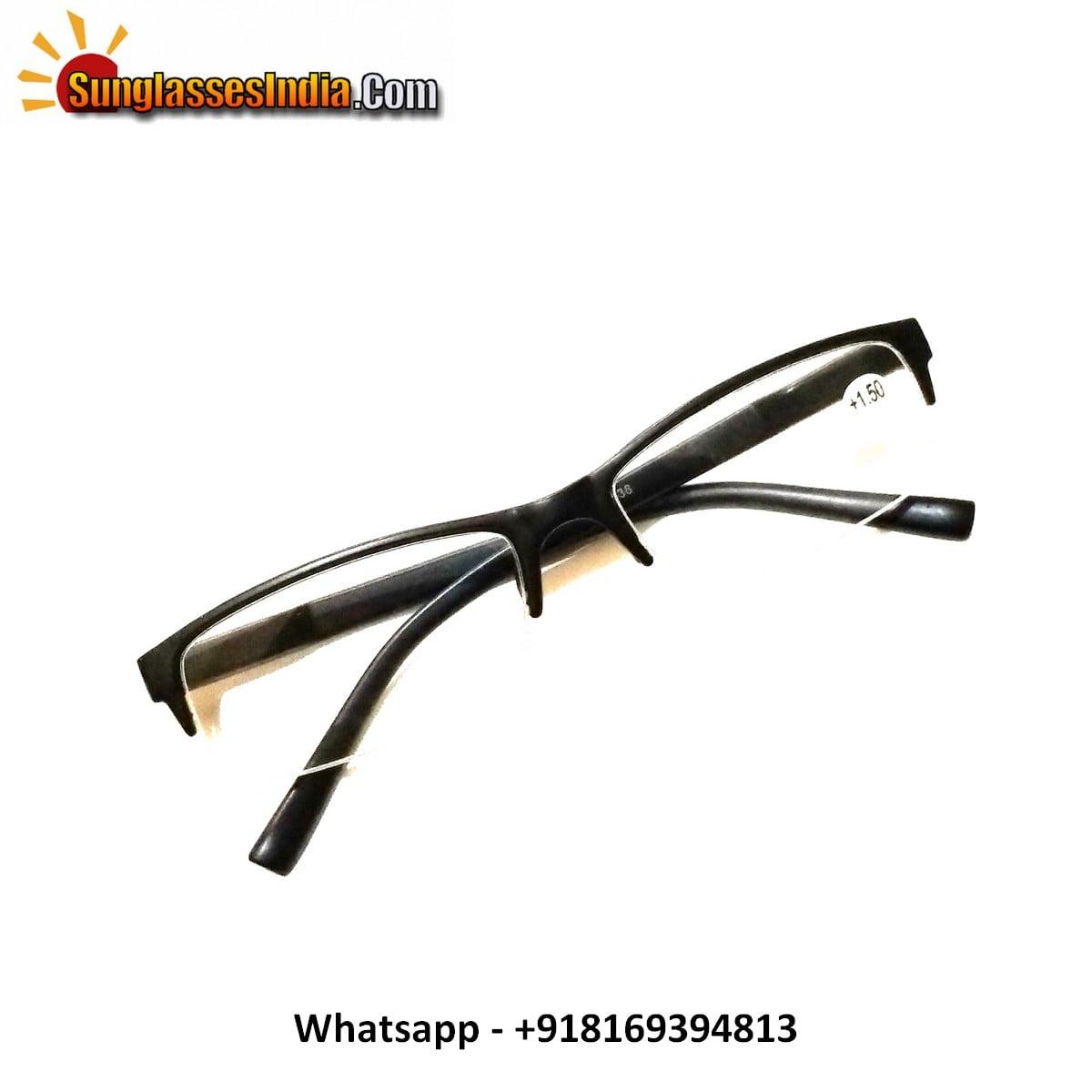 Black Reading Glasses Power 150
