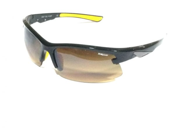 Gradient Wraparound Sports Driving Sunglasses