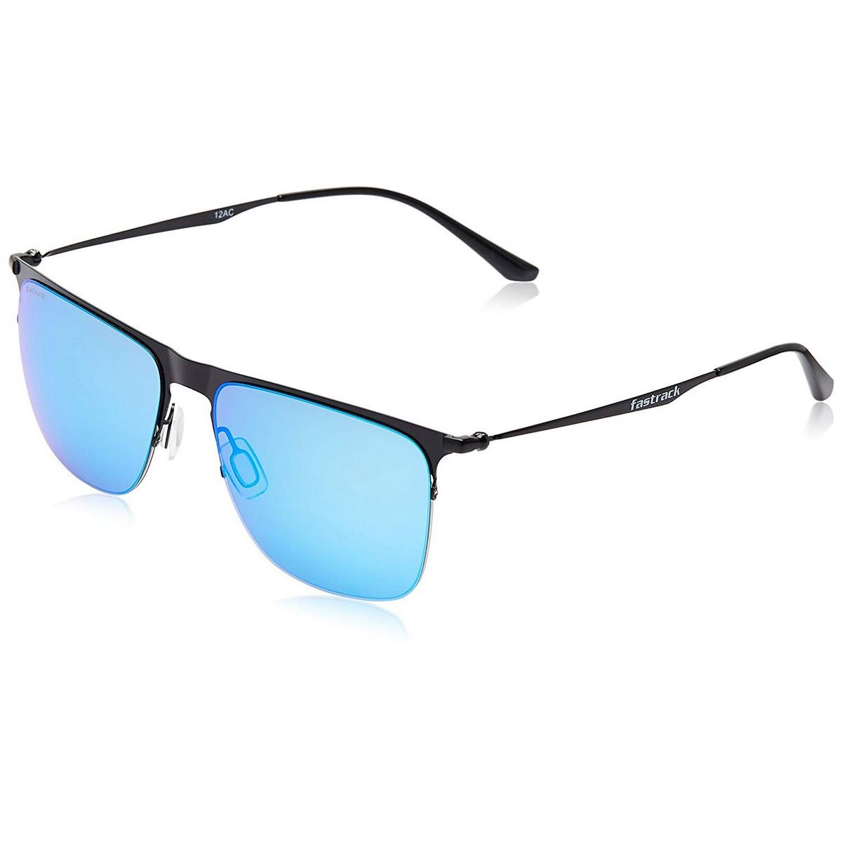 Fastrack Blue Clubmaster Sunglasses M145BU3
