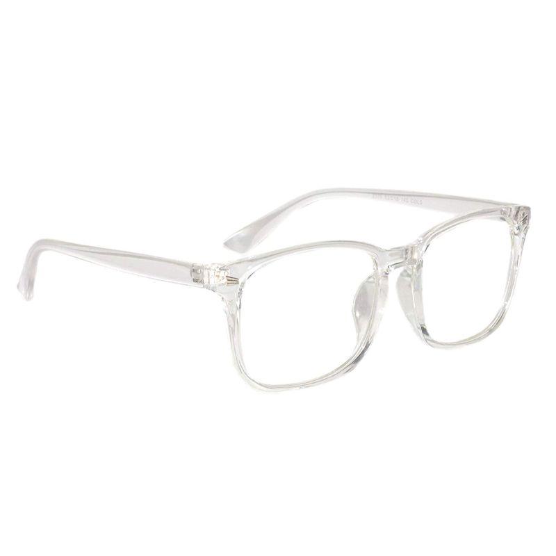 Transparent Clear Wayfarers Sunglasses