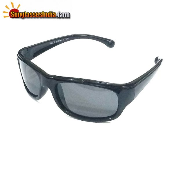 Unbreakable Kids Polarized Sunglasses Light Weight TR Material S803Black