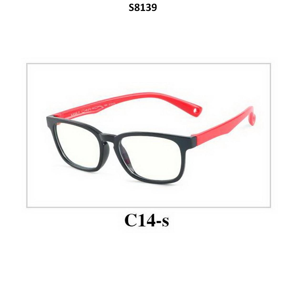 Kids Blue Light Blocker Computer Glasses Anti Blue Ray Eyeglasses S8139C14