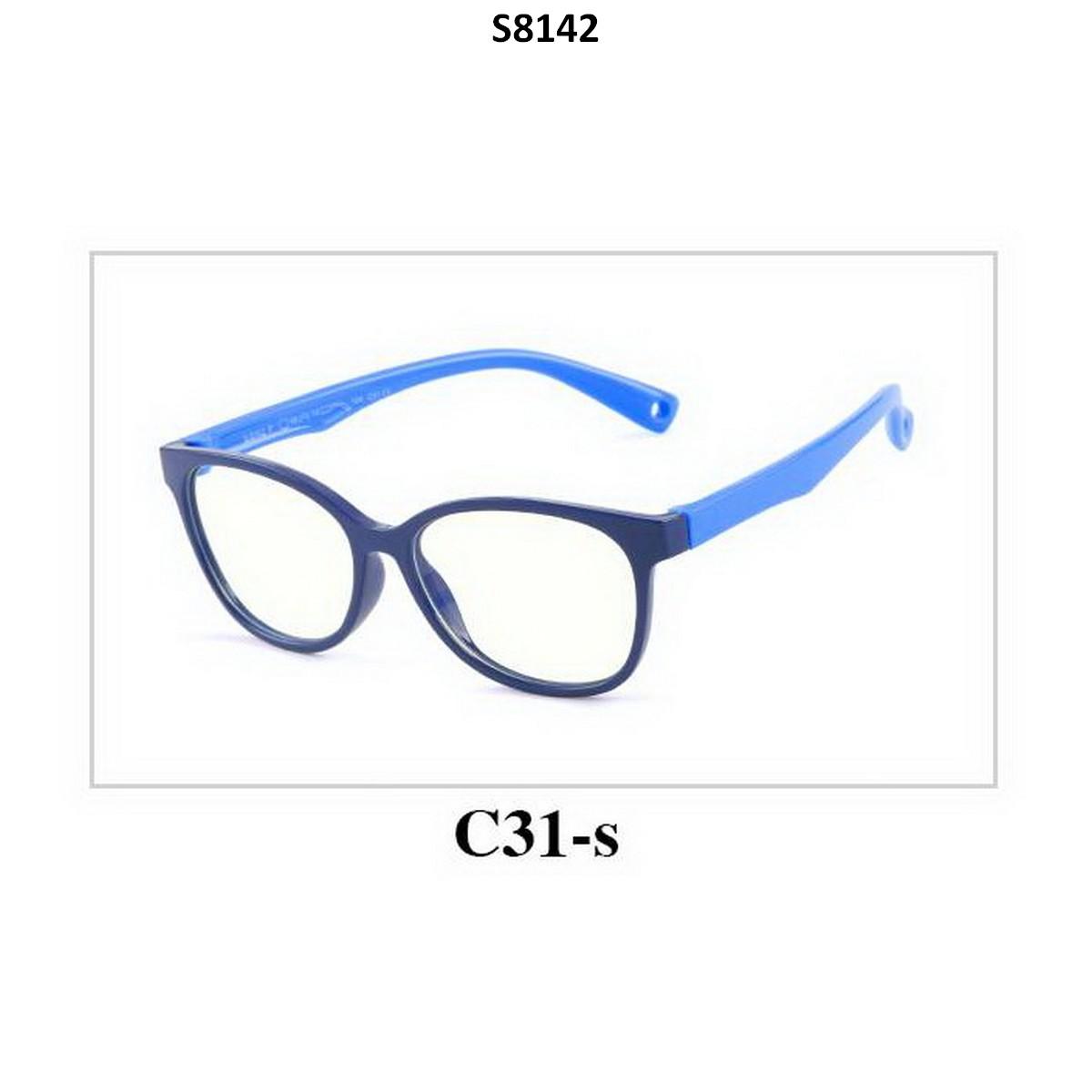 Kids Blue Light Blocker Computer Glasses Anti Blue Ray Eyeglasses S8142C31