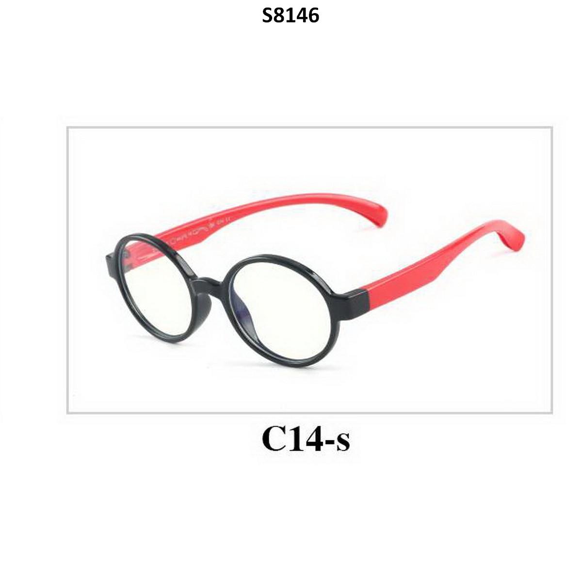 Kids Blue Light Blocker Computer Glasses Anti Blue Ray Eyeglasses S8146C14