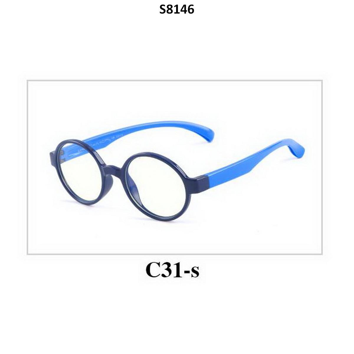 Kids Blue Light Blocker Computer Glasses Anti Blue Ray Eyeglasses S8146C31