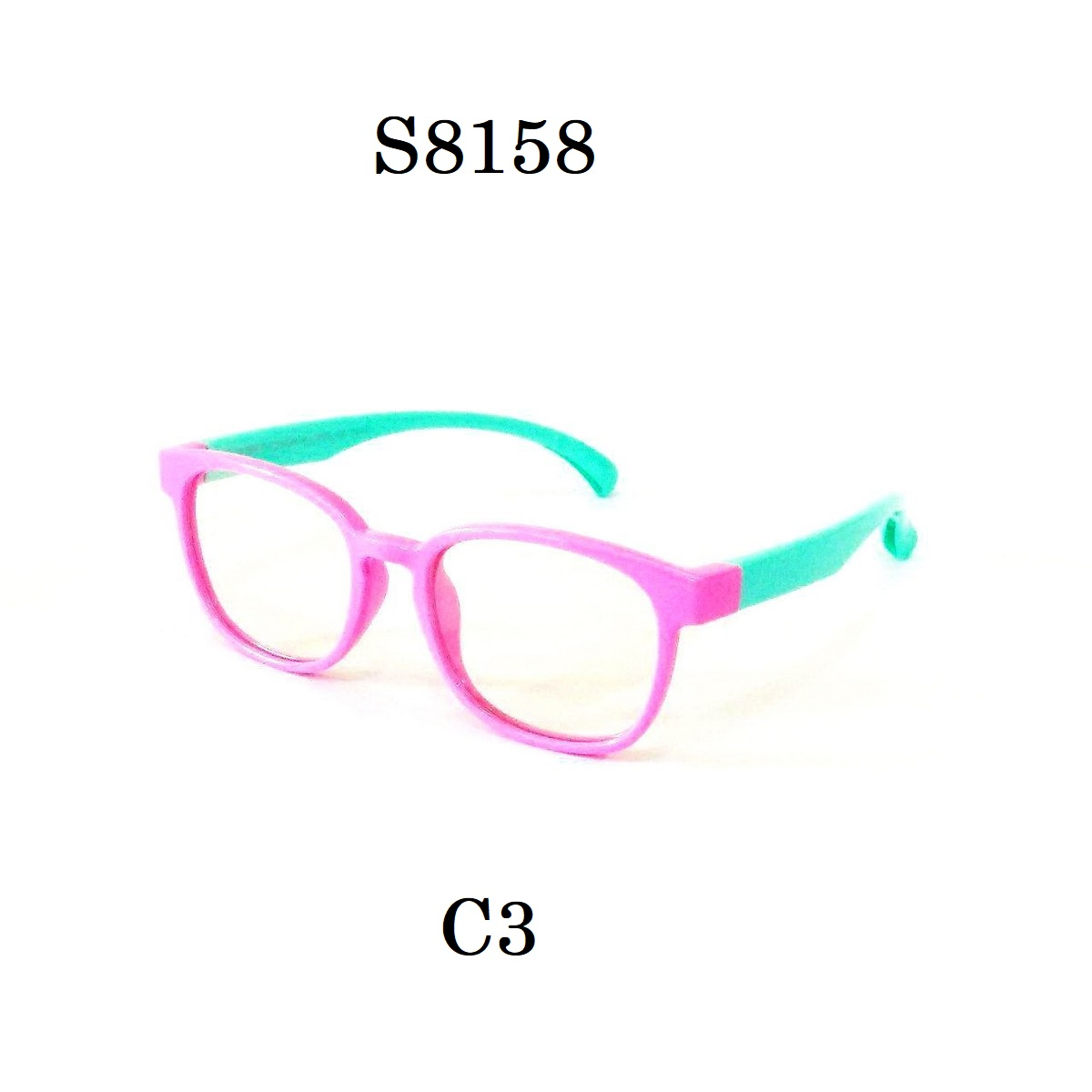 Kids Blue Light Blocker Computer Glasses Anti Blue Ray Eyeglasses S8158C3