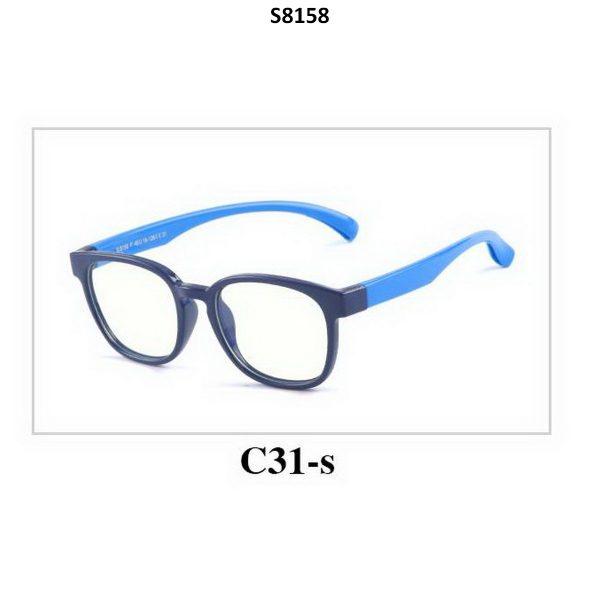 Kids Blue Light Blocker Computer Glasses Anti Blue Ray Eyeglasses S8158C31