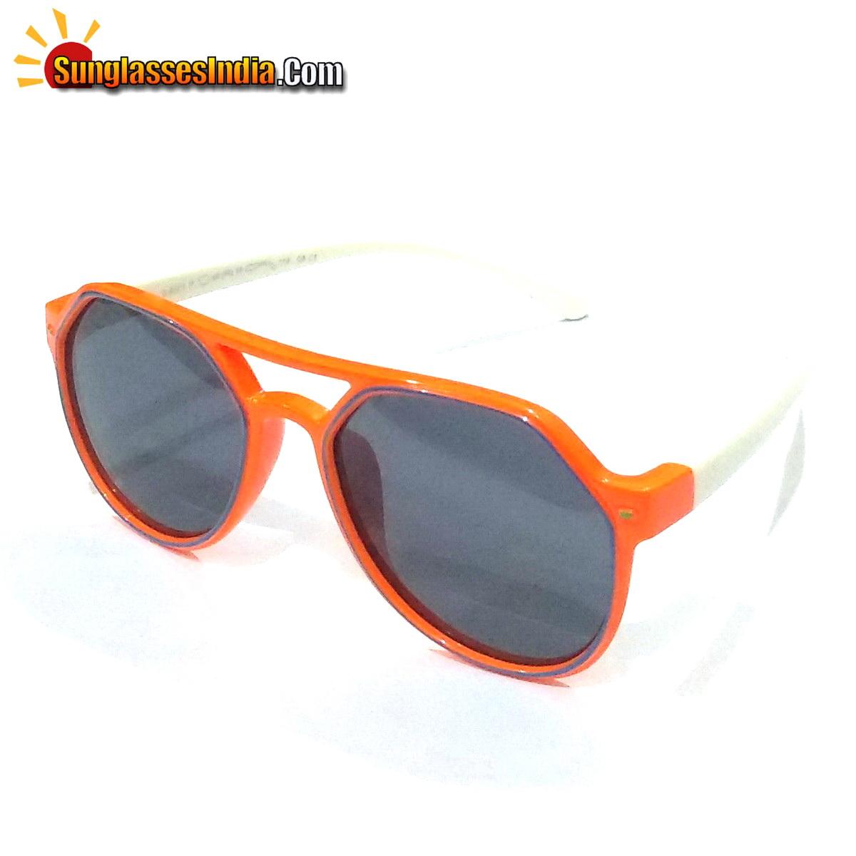 Unbreakable Kids Polarized Sunglasses Light Weight TR Material S8173Orange