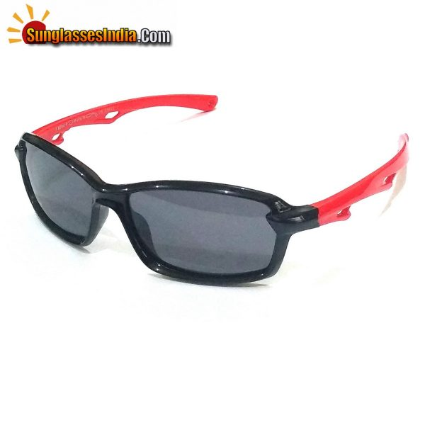 Unbreakable Kids Polarized Sunglasses Light Weight TR Material S8204BlackRed
