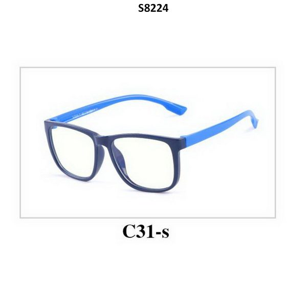 Kids Blue Light Blocker Computer Glasses Anti Blue Ray Eyeglasses S8224C31