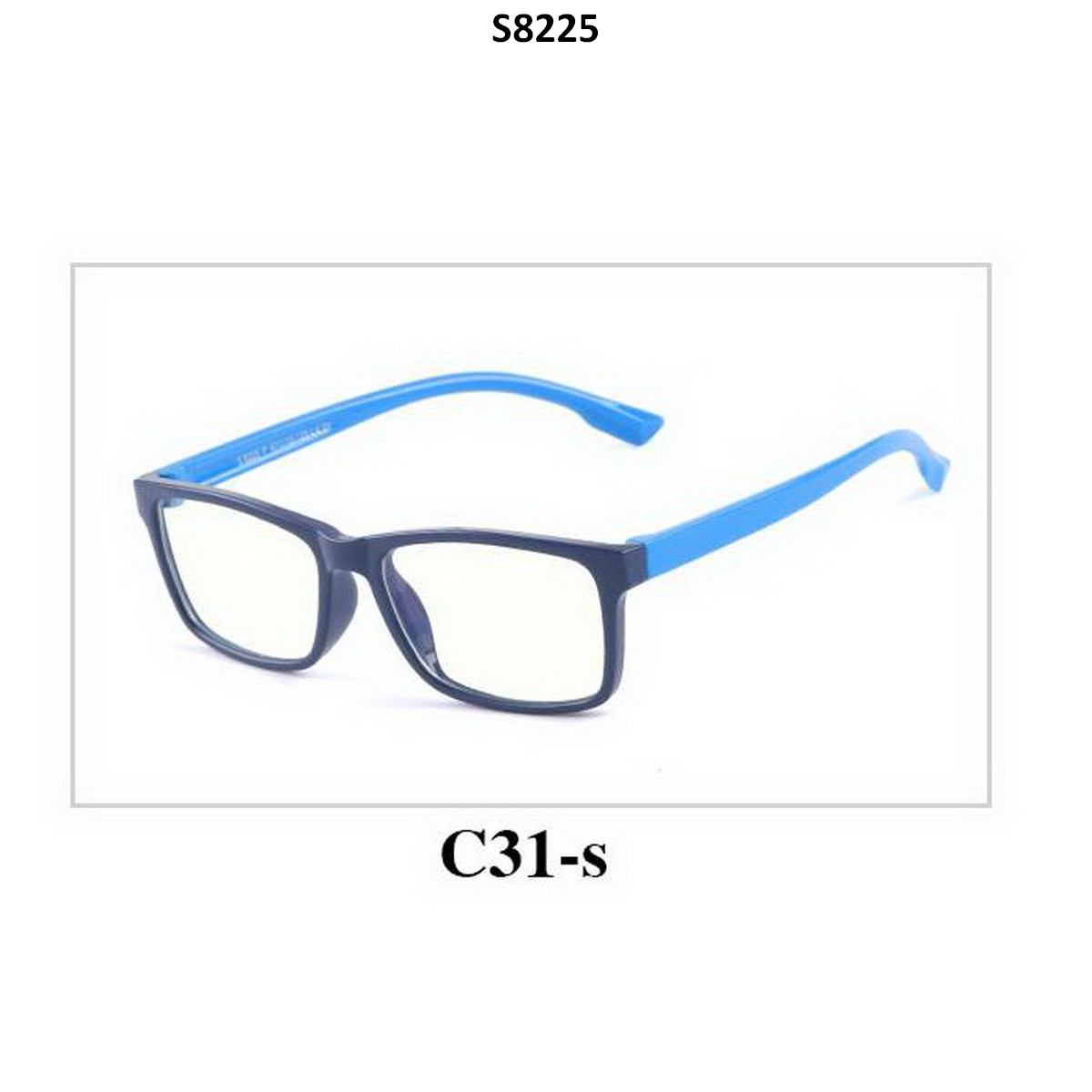 Kids Blue Light Blocker Computer Glasses Anti Blue Ray Eyeglasses S8225C31