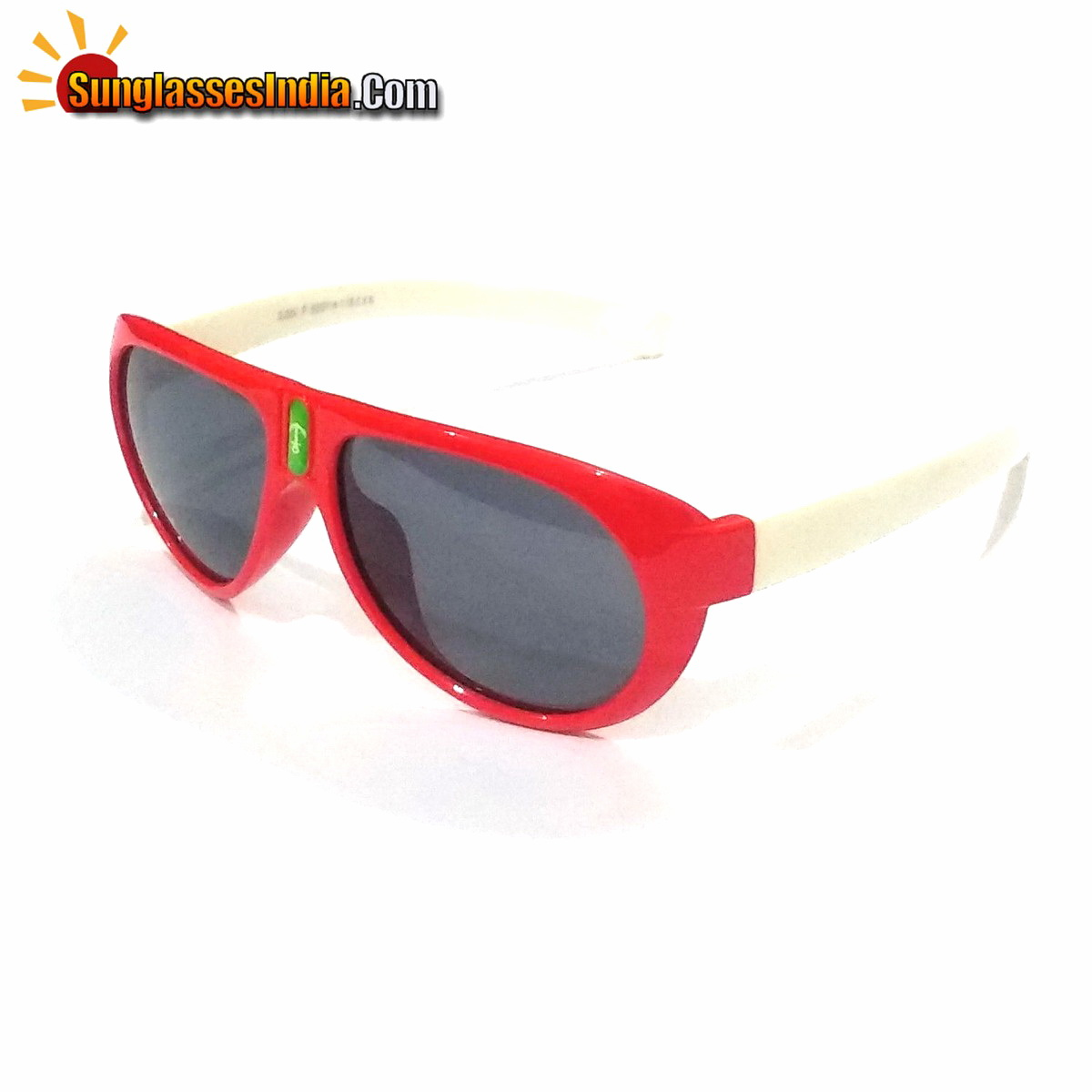 Unbreakable Kids Polarized Sunglasses Light Weight TR Material S824RedWhite