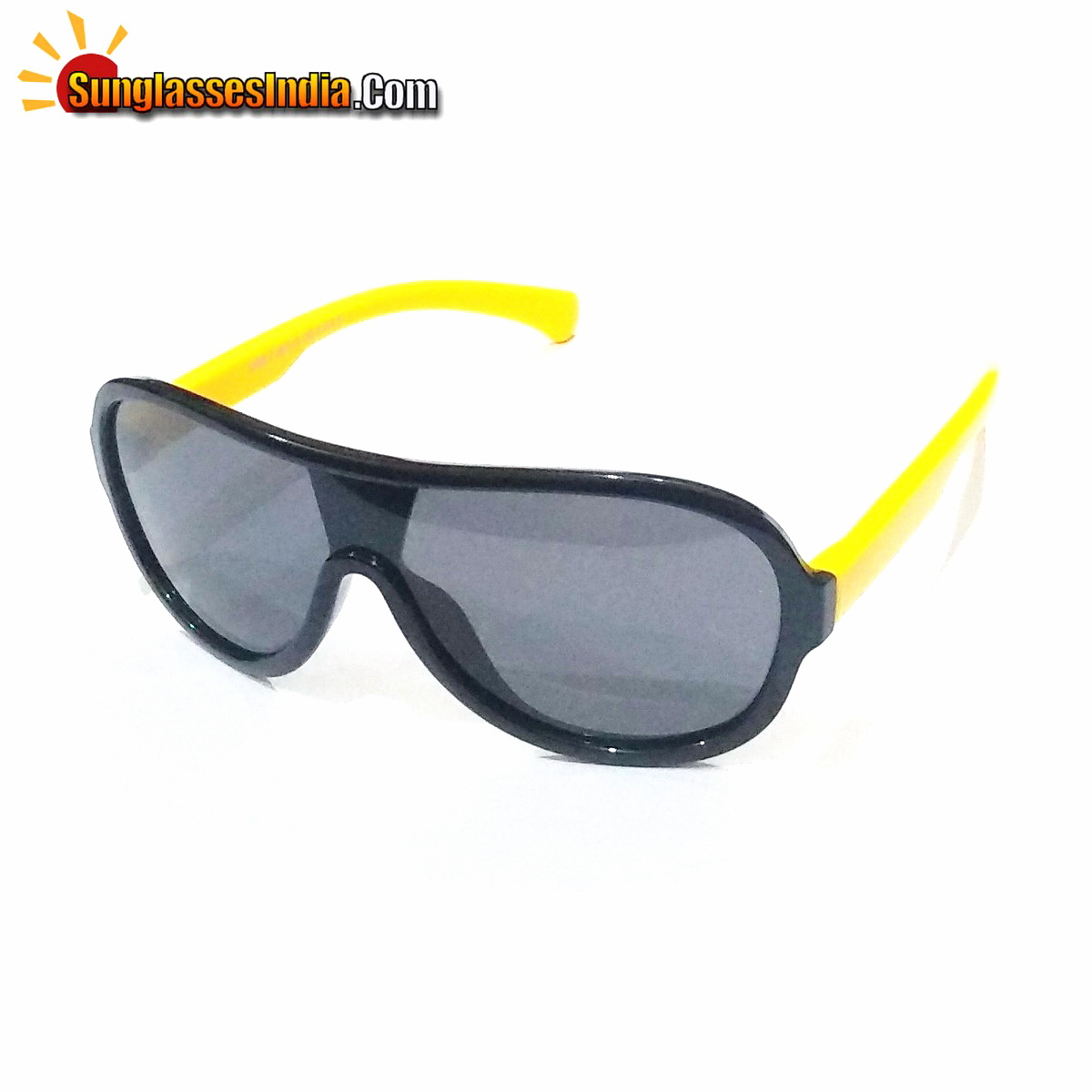 Unbreakable Kids Polarized Sunglasses Light Weight TR Material S895BlackYellow