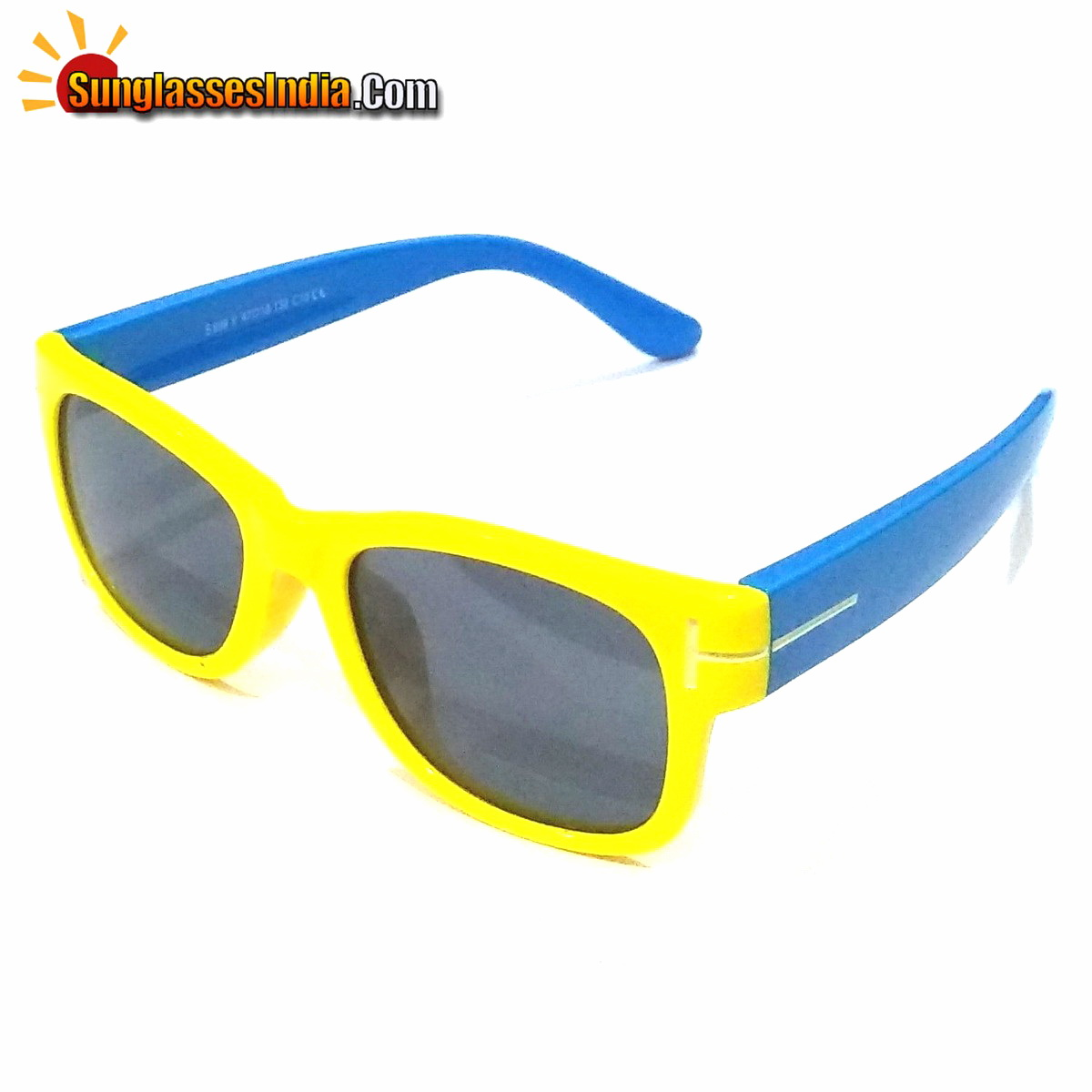 Unbreakable Kids Polarized Sunglasses Light Weight TR Material S899YellowBlue