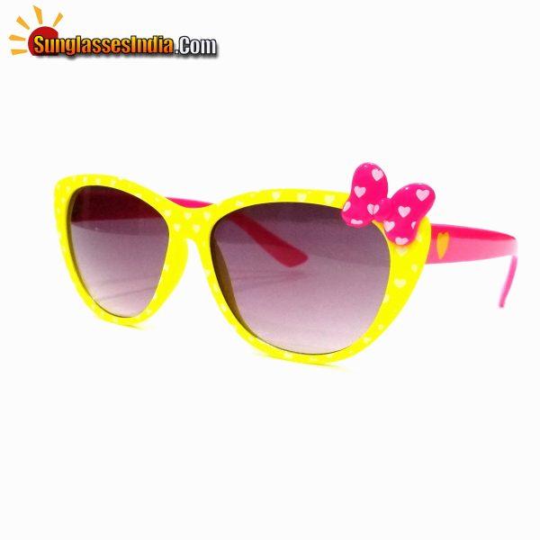 Kids Fashion Sunglasses TKS001Yellow